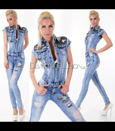 Jeansový overal DENIM ARMY
